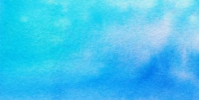 Shades of blue watercolor