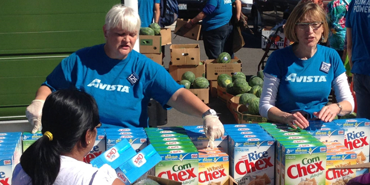 Avista promotes community involvement