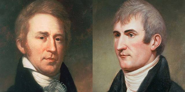 Lewis and Clark illustrated portraits