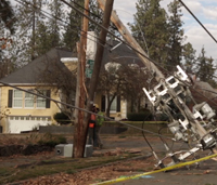 Downed power lines